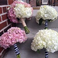 WEDDING BOUQUET- HYDRANGEA-LARGE