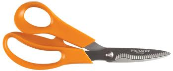 GARDEN SHEARS ORANGE HANDLE