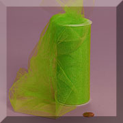 "NYLON TULLE 6"" X 25 YD LIME"