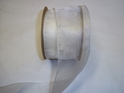 "#40 DW SPARKLE IVORY 2 1/2"" 20 YDS/ROLL"