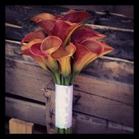 WEDDING BOUQUET-MINI CALLA- SMALL